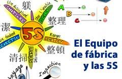 curso equipo de fabrica y las 5s